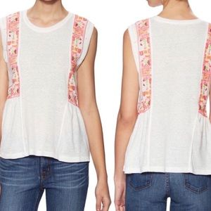 Free People | Marcy Sleeveless Embroidered Tank